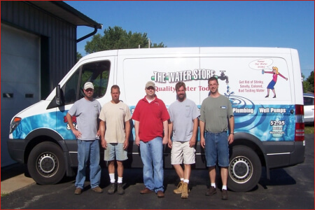 Residential Water Services at The Water Store Wind Lake/Muskego Wisconsin